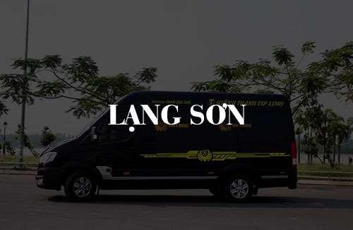 Xe limousine Lạng Sơn
