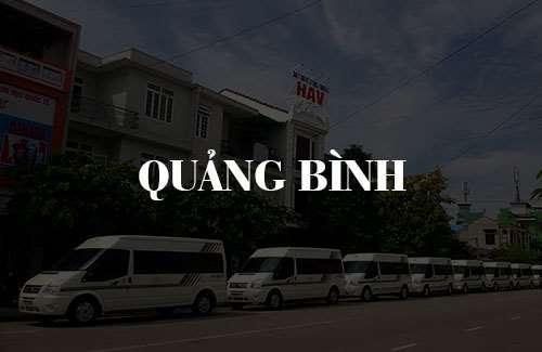 Xe limousine Quảng Bình