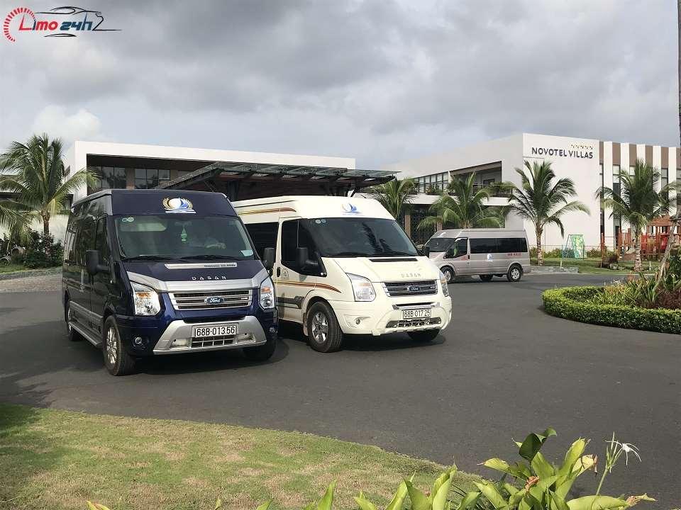 Thuê xe limousine tham quan Phú Quốc