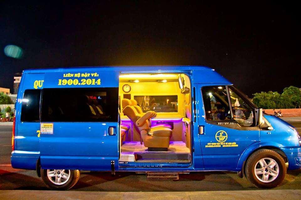 Xe Limousine Kim Liên tuyến Đà Nẵng - Quy Nhơn