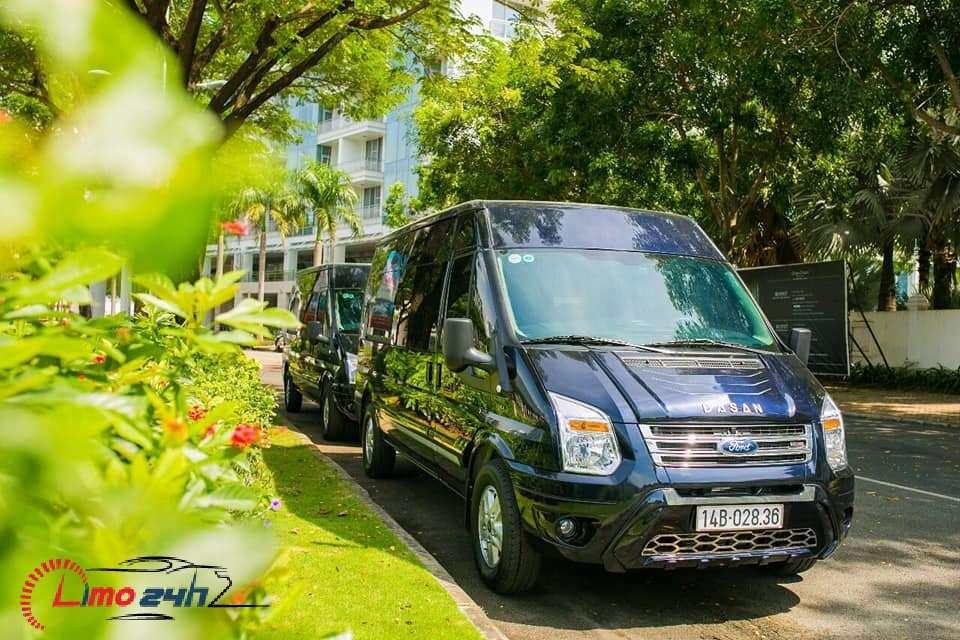 Xe limousine tuyến Hà Nội - Hạ Long - Quảng Ninh - Vân Đồn Xanh