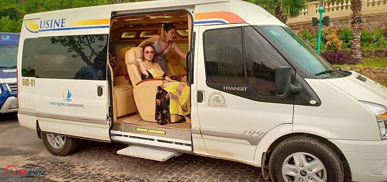 Thuê xe limousine Phú Quốc trọn gói