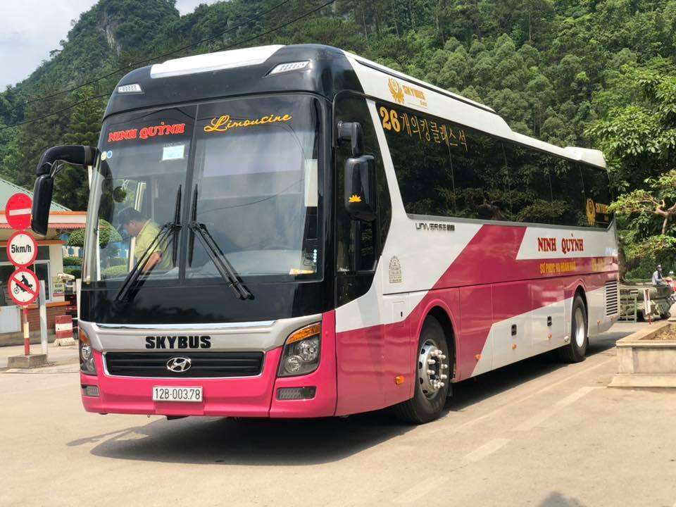 Xe Ninh Quỳnh Car VIP Hà Nội Lạng Sơn