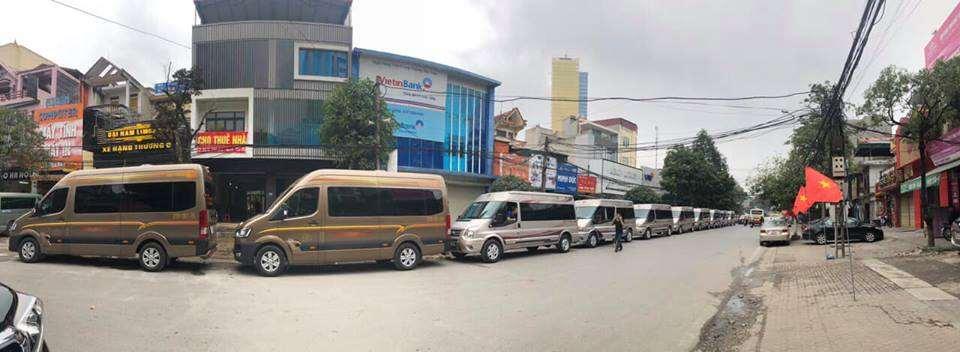 Xe Limousine tuyen Ha Noi - Thanh Hoa - nha xe Dai Nam Limousine