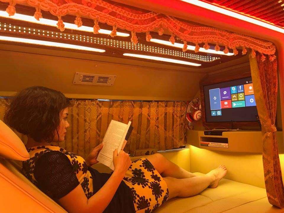 Xe limousine giường nằm cabins Hà Nội đi Lai Châu