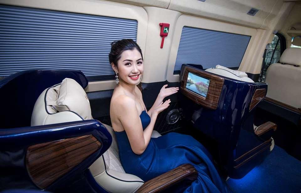 Xe limousine Hà Nội đi Lạng Sơn Quỳnh Thanh VIP Limo