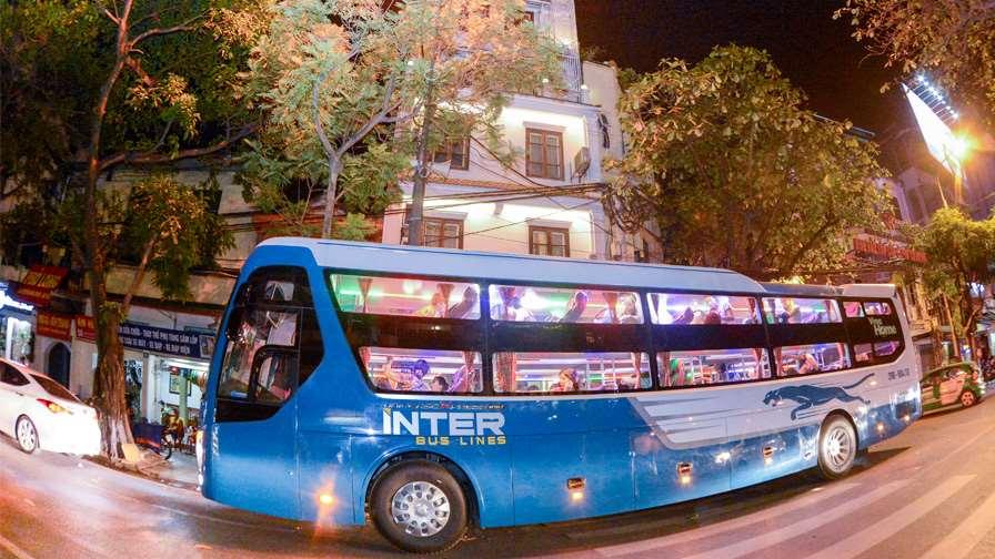 xe limousine Interbusline Hà Nội đi Sapa