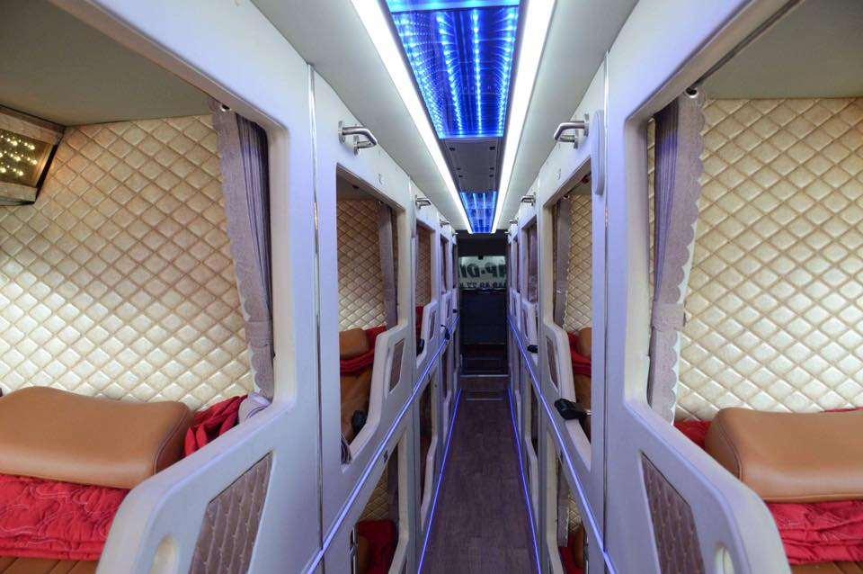 Xe limousine giường nằm Sài Gòn đi Cà Mau - nhà xe Giáp Diệp
