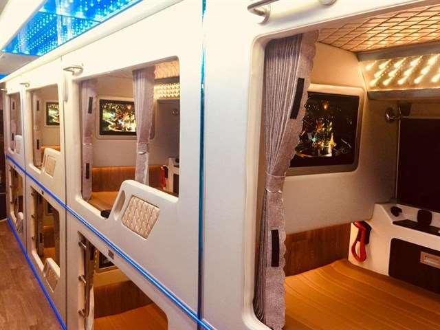 Xe limousine giường nằm Sài Gòn đi Phú Yên - xe khách Hồng Sơn