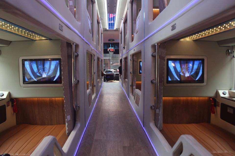 Xe limousine giường nằm Sài Gòn đi Phú Yên - xe khách Hồng Sơn 3