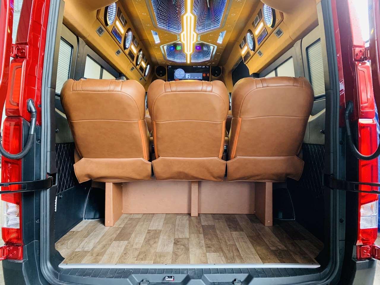 Xe limousine Lạc Hồng Đà Lạt đi Nha Trang