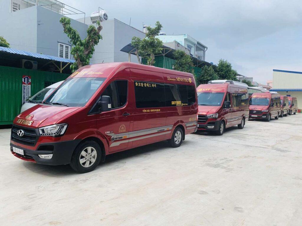 Xe VIP limousine Sài Gòn Đà Lạt - Minh Trí
