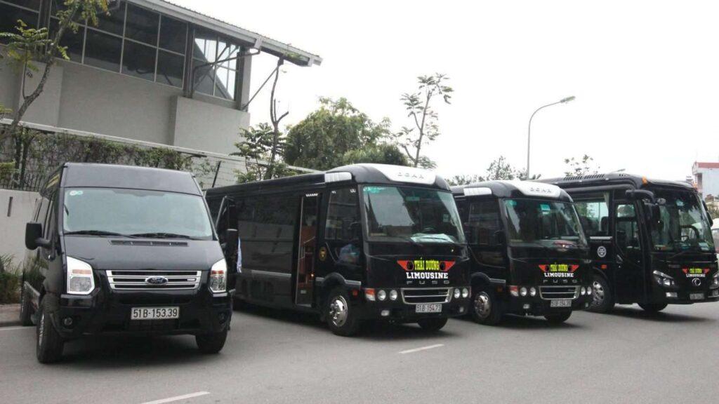 Xe limousine Thái Dương đi Đà Lạt