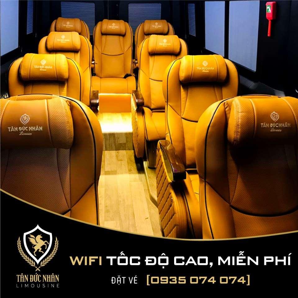 Xe limousine Đông Hà - Huế - Đà Nẵng - Tân Đức Nhân