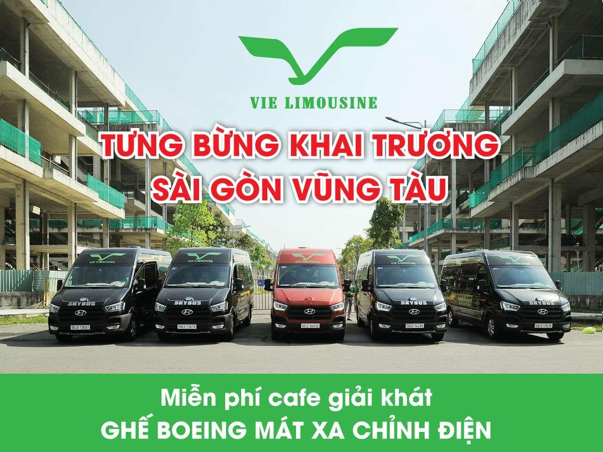 Xe Vie Limousine Sài Gòn đi Vũng Tàu