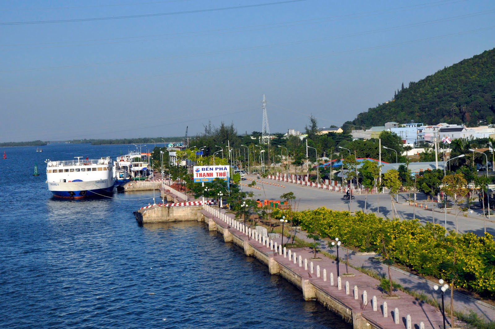 Du lịch đến Phú Quốc bằng phà Hà Tiên