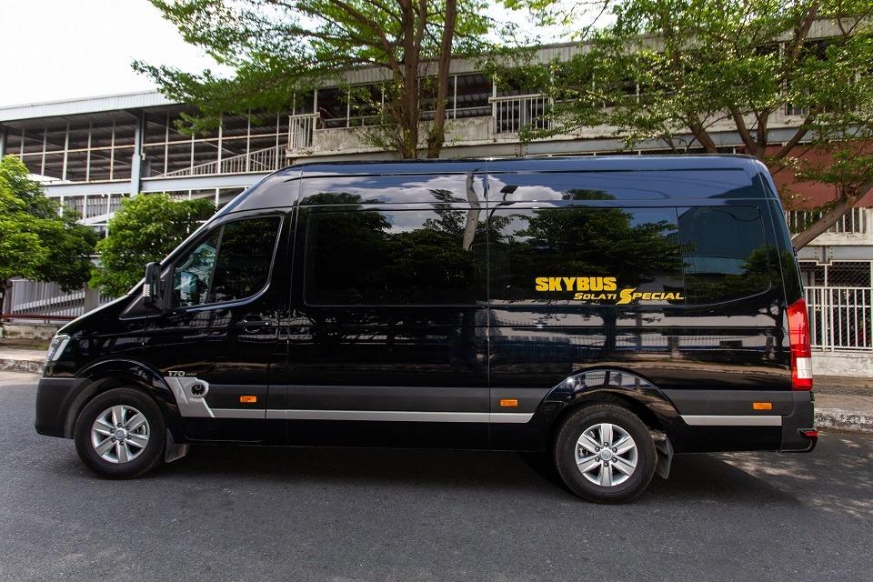 Xe limousine Hà Nội đi Thái Nguyên - Minh Anh Limousine