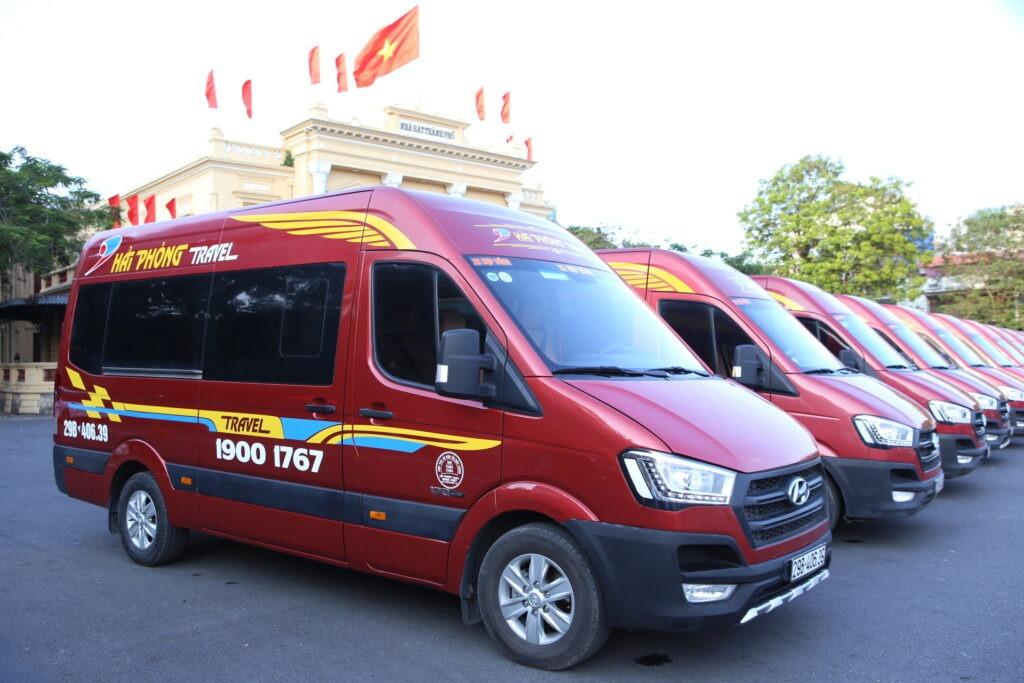 Xe limousine Hà Nội đi Hải Phòng uy tín chất lượng