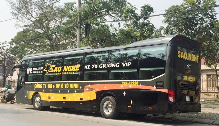 Xe VIP Sao Nghệ Hà Nội đi Thanh Hóa