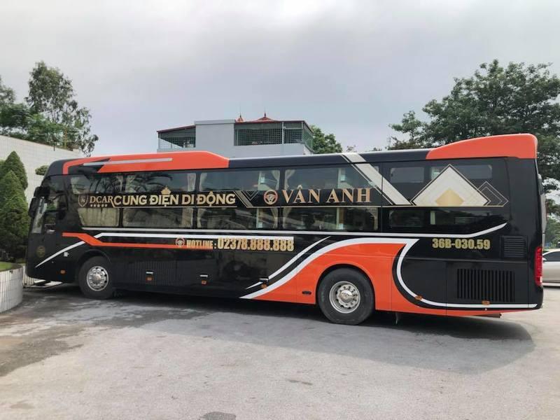 Xe Vân Anh Limousine Hà Nội đi Thanh Hóa