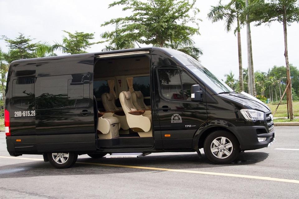 Xe VIP Limousine Hà Nội đi Hải phòng