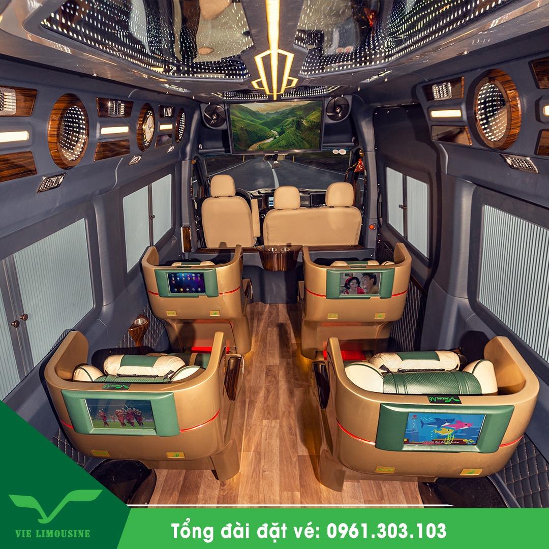 Xe VIP limousine Sài Gòn - Vũng Tàu tốt nhất