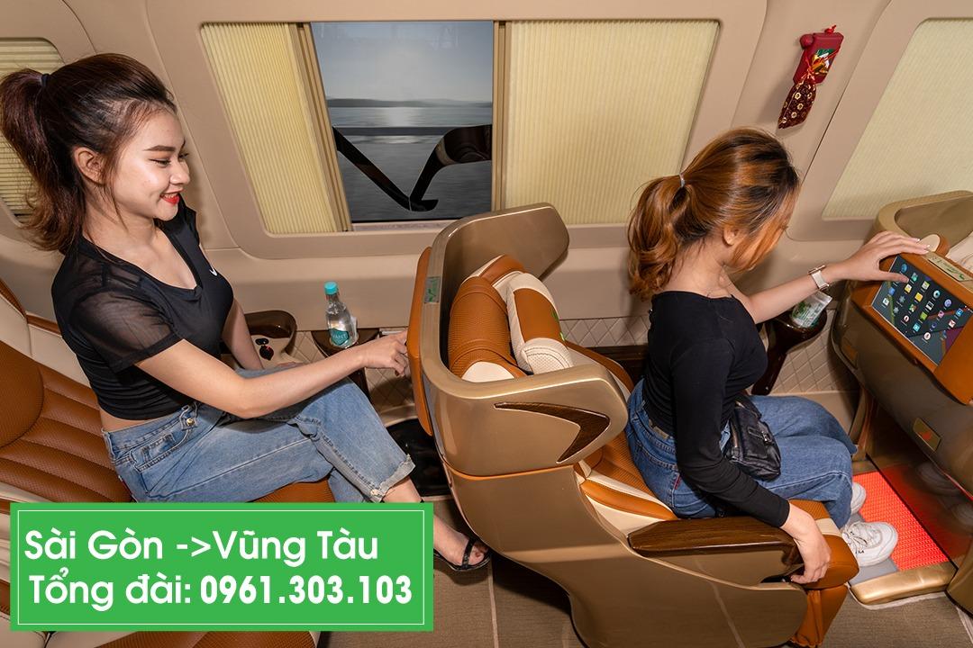 Xe VIP limousine Sài Gòn đi Vũng Tàu 1