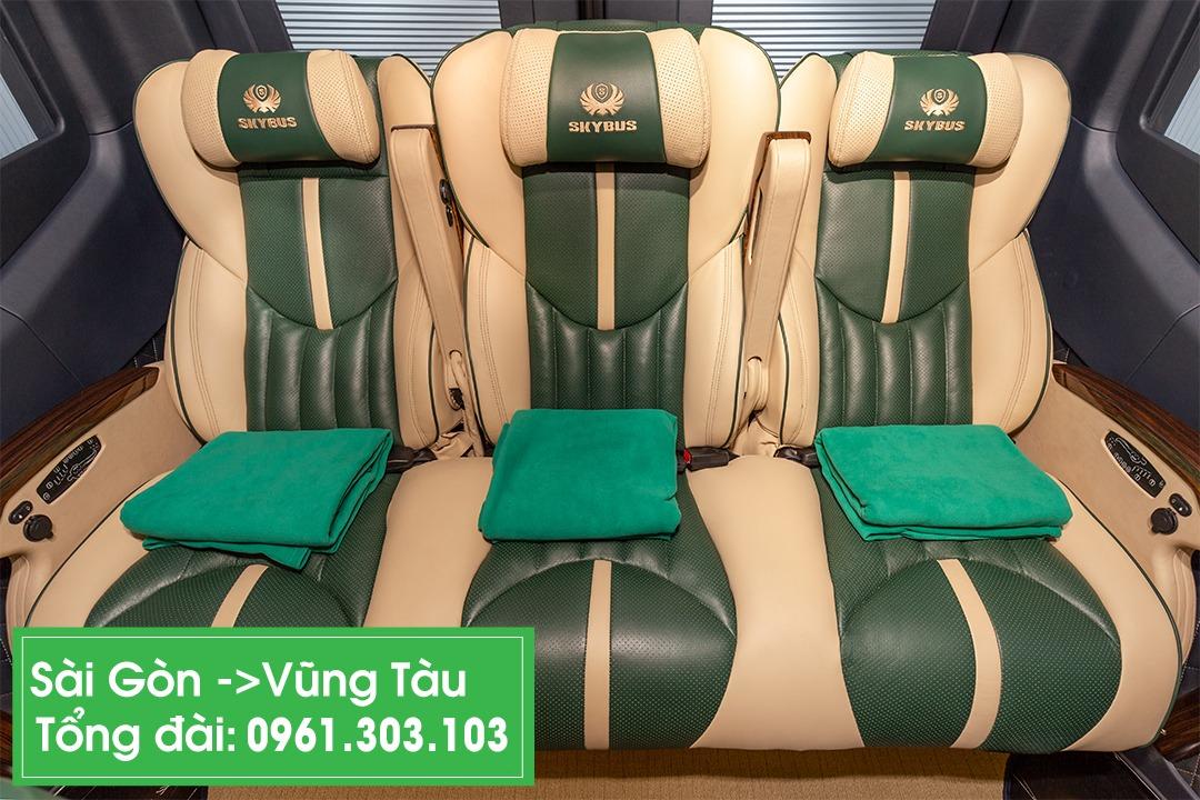 Xe VIP limousine Sài Gòn đi Vũng Tàu 2