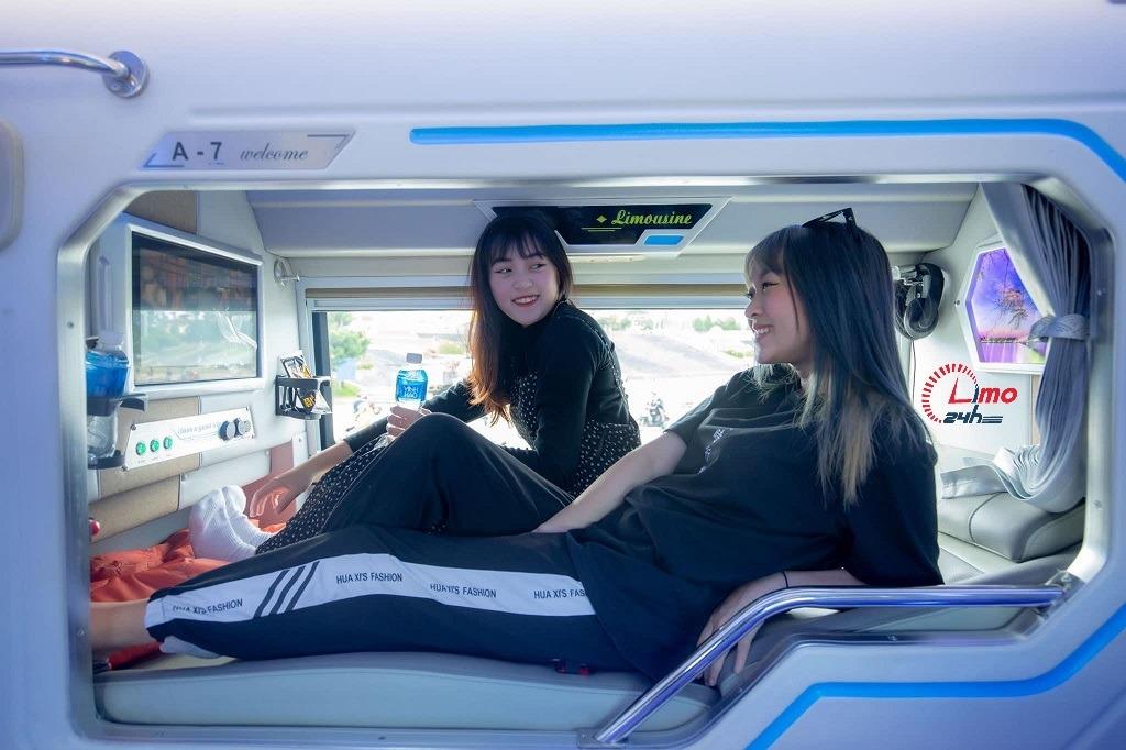Xe phòng VIP đôi Sài Gòn đi Đà Lạt